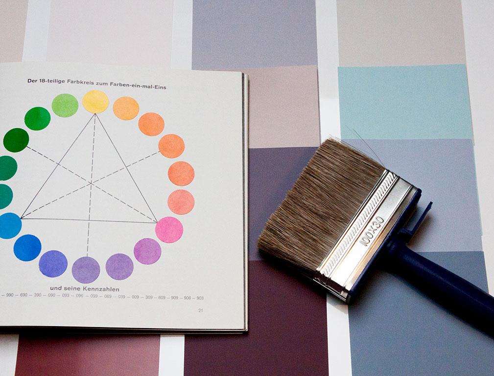 Farbgestaltung bei Paint-One GmbH